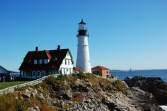 Portland Head Lighthouse, Maine, USA Royalty Free Stock Image