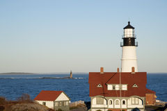 Portland Head Lighthouse is Oldest Lighthouse Stock Images
