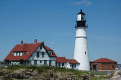 Portland Head Lighthouse, Portland, ME Royalty Free Stock Image