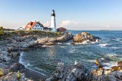 Portland Head Lighthouse Stock Photography