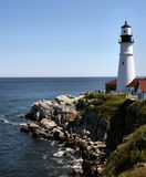 Portland Headlight Royalty Free Stock Image