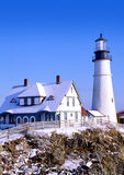 Portland Headlight Royalty Free Stock Photos