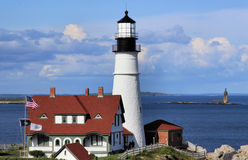 Portland Headlight Stock Photography