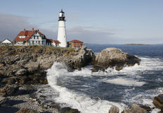 Portland Headlight Lighthouse, Maine Royalty Free Stock Image