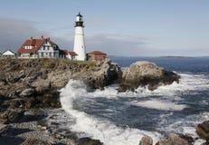 Portland Headlight Lighthouse, Maine Royalty Free Stock Image