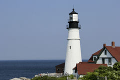 Portland Headlight Lighthouse Royalty Free Stock Images