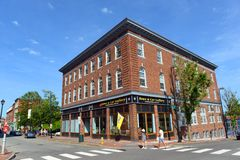 Portland Historic Downtown, Maine, USA Stock Images