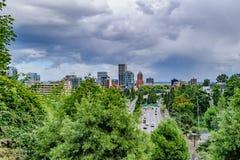 Portland horisont Arkivbilder