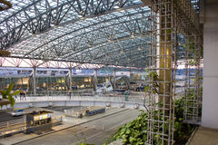 Portland International airport indoor Royalty Free Stock Image