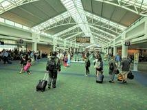 Portland international airport Stock Photo