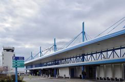 The Portland International Jetport (PWM) Royalty Free Stock Photo