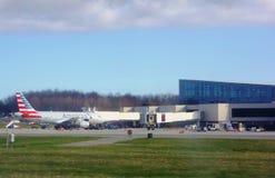 The Portland International Jetport (PWM) Stock Photography
