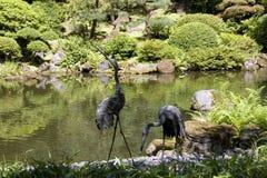 Portland Japanese Garden Stock Image