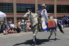 Portland - JUNE 12-2010: Rose festival parade Stock Image