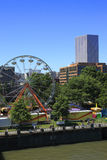 PORTLAND - JUNE 12: ANNUAL ROSE FESTIVAL  Ferries Royalty Free Stock Images