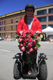 PORTLAND - JUNE 12: ROSE FESTIVAL ANNUAL PARADE. Royalty Free Stock Photos