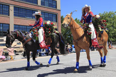 PORTLAND - JUNE 12: ROSE FESTIVAL ANNUAL PARADE Stock Image