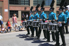 PORTLAND - JUNE 12: ROSE FESTIVAL ANNUAL PARADE. Stock Image