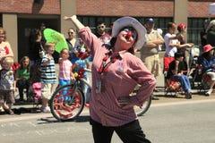 PORTLAND - JUNE 12: ROSE FESTIVAL ANNUAL PARADE. Stock Photos