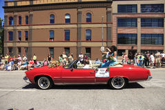 PORTLAND - JUNE 12: ROSE FESTIVAL ANNUAL PARADE. Royalty Free Stock Image