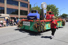 PORTLAND - JUNE 12: ROSE FESTIVAL ANNUAL PARADE 20 Royalty Free Stock Photography