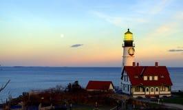 Portland-Kopf-Leuchtturm, Kap Elizabeth Maine Stockfoto