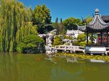 Portland Lan Su Chinese garden Stock Image