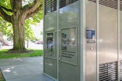 The Portland Loo public bathroom Royalty Free Stock Image