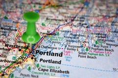 Portland, Maine imagen de archivo libre de regalías