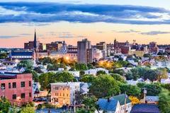 Portland, Maine linia horyzontu obrazy royalty free