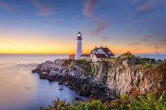 Portland, Maine, los E.E.U.U. Fotografía de archivo