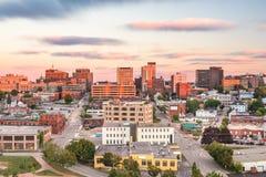 Portland, Maine, usa śródmieścia linia horyzontu fotografia royalty free