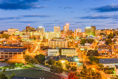 Portland, Maine, USA. Downtown cityscape Stock Photos