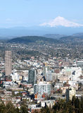 Portland OR. & Mt. Hood. Stock Photos