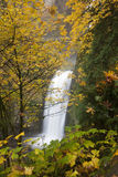 Portland Multnomah Falls Royalty Free Stock Image