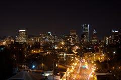Portland, OR Night Stock Image
