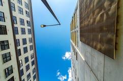 In Portland oben schauen, Oregon Lizenzfreies Stockfoto