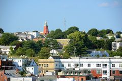 Portland Observatory on Munjoy Hill, Maine, USA Stock Images