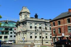 Portland Old Port and Custom House, Maine, USA Royalty Free Stock Photo