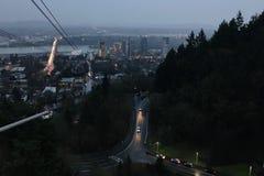 Portland Oregon stock afbeelding