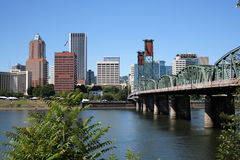 Portland Oregon Stockbild