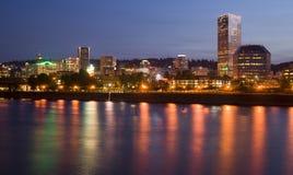 Portland Oregon Royaltyfri Fotografi