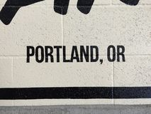 Portland Oregon Stock Foto's