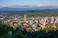 Portland oregon city Royalty Free Stock Photos