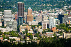 Portland  Oregon Cityscape Royalty Free Stock Images