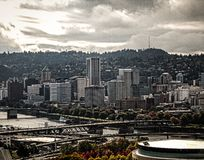 Portland oregon fotografia royalty free