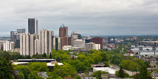 Portland Oregon Downtown Stock Photography