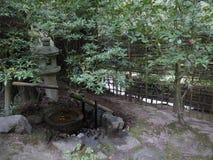 Portland, Oregon, Japanese Garden. Walking around in Japanese garden royalty free stock images
