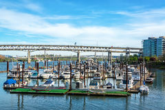 Portland, Oregon Marina Royalty Free Stock Image
