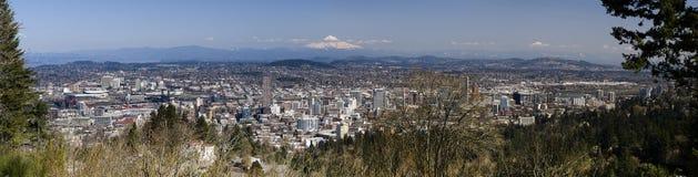 Portland, Oregon Panorama Royalty Free Stock Photos